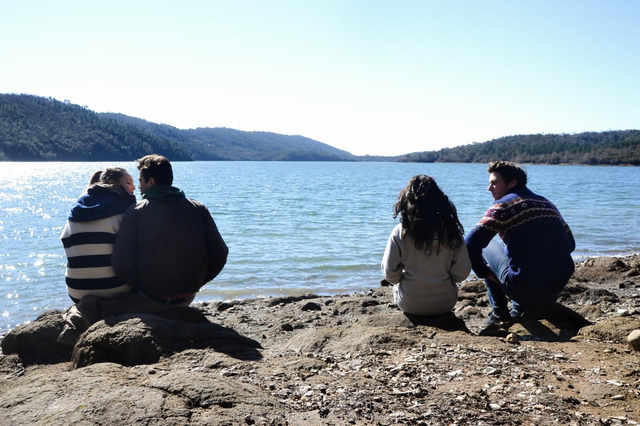 Au bord du lac (Back stage)-43